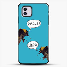 Load image into Gallery viewer, Golf Wang Scum Fuck Bees iPhone 11 Case, Black Plastic Case | JoeYellow.com