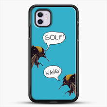 Load image into Gallery viewer, Golf Wang Scum Fuck Bees iPhone 11 Case, Black Rubber Case | JoeYellow.com