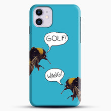 Load image into Gallery viewer, Golf Wang Scum Fuck Bees iPhone 11 Case, Black Snap 3D Case | JoeYellow.com