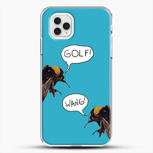 Golf Wang Scum Fuck Bees iPhone 11 Pro Case, White Plastic Case | JoeYellow.com