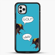 Load image into Gallery viewer, Golf Wang Scum Fuck Bees iPhone 11 Pro Case, Black Rubber Case | JoeYellow.com