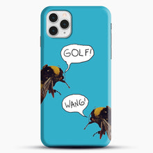 Load image into Gallery viewer, Golf Wang Scum Fuck Bees iPhone 11 Pro Case, Black Snap 3D Case | JoeYellow.com