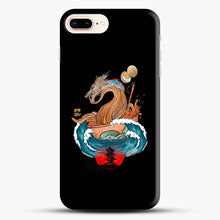 Load image into Gallery viewer, Great Ramen Wave Dragon Black Wallpaper iPhone 7 Plus Case