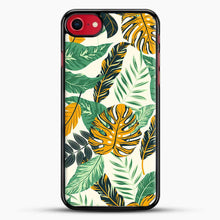 Load image into Gallery viewer, Green Leaves With Yellow & Green Flowers Tropical Pattern iPhone 8 Case