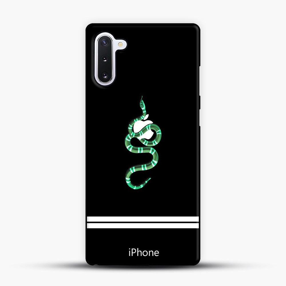 Green Snake and Apple Iphone Cover Samsung Galaxy Note 10 Case