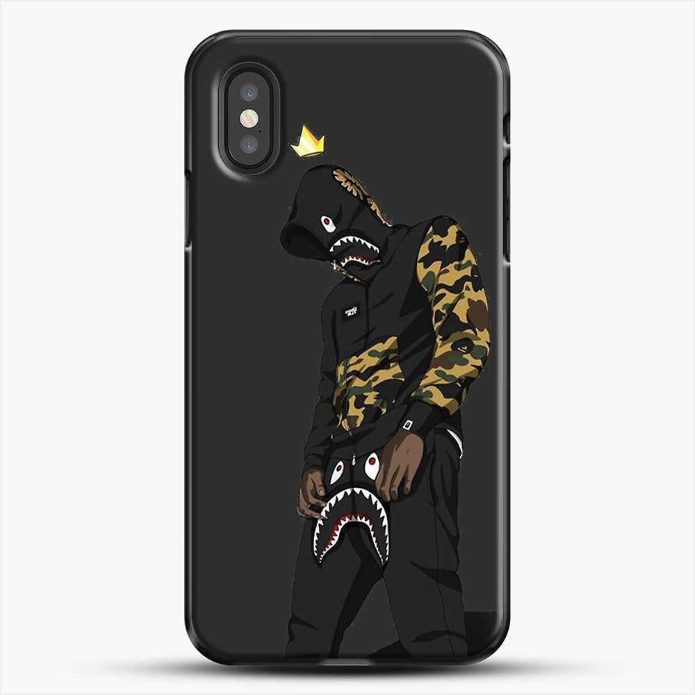 Hypebeast iPhone XS Case, Black Plastic Case | JoeYellow.com