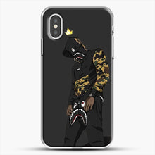 Load image into Gallery viewer, Hypebeast iPhone XS Case, White Plastic Case | JoeYellow.com