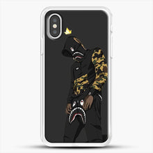Load image into Gallery viewer, Hypebeast iPhone XS Case, White Rubber Case | JoeYellow.com
