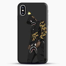 Load image into Gallery viewer, Hypebeast iPhone XS Case, Black Snap 3D Case | JoeYellow.com