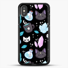 Load image into Gallery viewer, Herb Witch iPhone X Case, Black Rubber Case | JoeYellow.com