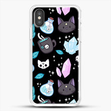 Load image into Gallery viewer, Herb Witch iPhone X Case, White Rubber Case | JoeYellow.com