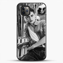 Load image into Gallery viewer, Hero Fiennes Tiffin After Movie iPhone 11 Pro Max Case, Black Plastic Case | JoeYellow.com