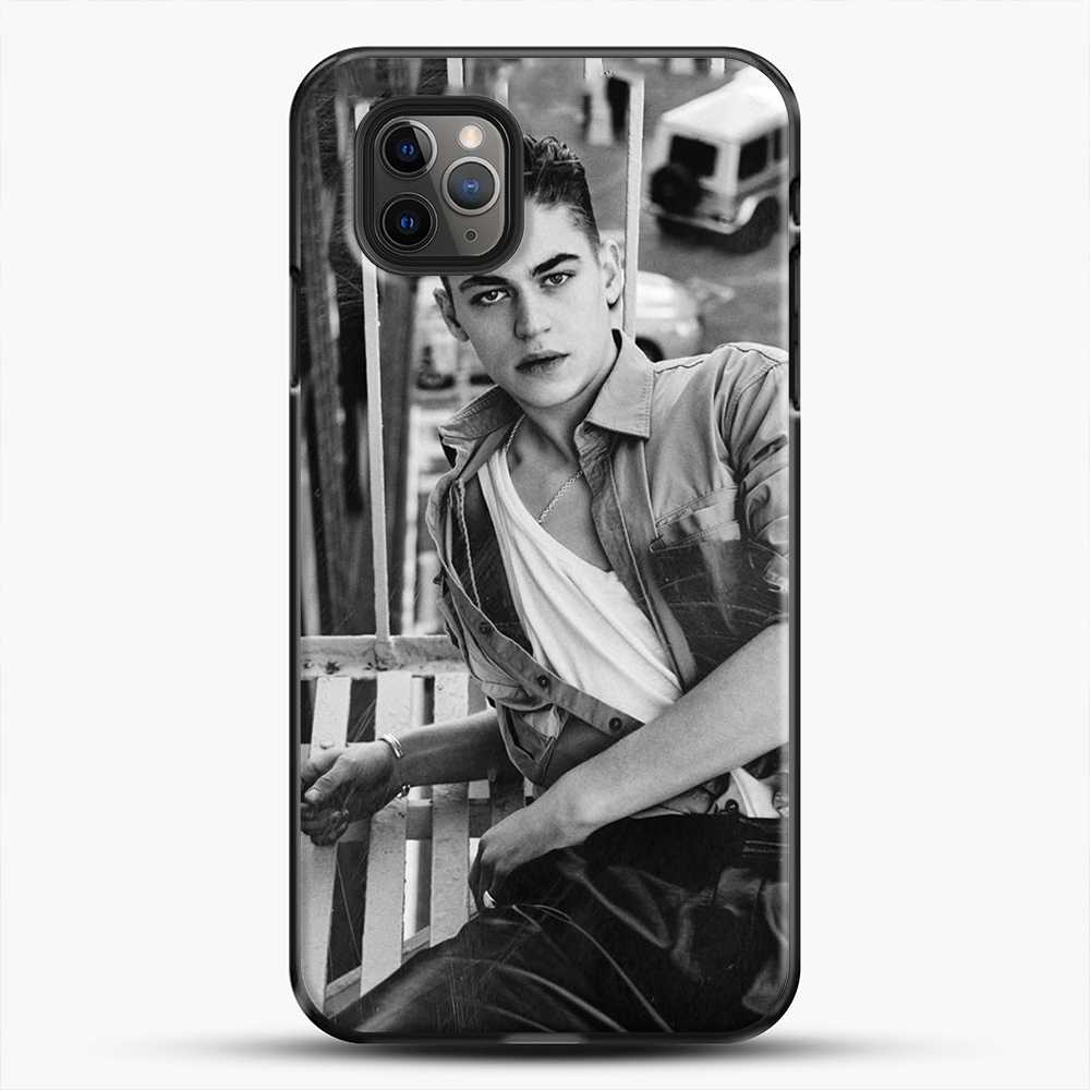 Hero Fiennes Tiffin After Movie iPhone 11 Pro Max Case, Black Plastic Case | JoeYellow.com