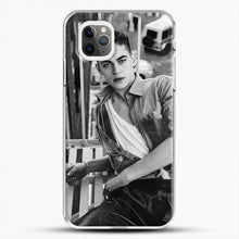 Load image into Gallery viewer, Hero Fiennes Tiffin After Movie iPhone 11 Pro Max Case, White Plastic Case | JoeYellow.com