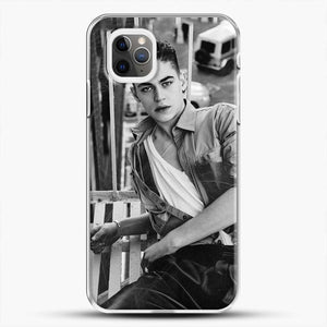 Hero Fiennes Tiffin After Movie iPhone 11 Pro Max Case, White Plastic Case | JoeYellow.com