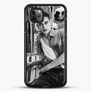 Hero Fiennes Tiffin After Movie iPhone 11 Pro Max Case, Black Rubber Case | JoeYellow.com
