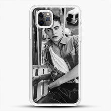 Load image into Gallery viewer, Hero Fiennes Tiffin After Movie iPhone 11 Pro Max Case, White Rubber Case | JoeYellow.com