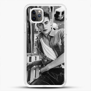 Hero Fiennes Tiffin After Movie iPhone 11 Pro Max Case, White Rubber Case | JoeYellow.com
