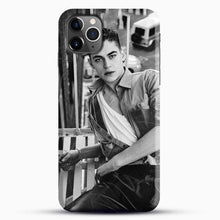 Load image into Gallery viewer, Hero Fiennes Tiffin After Movie iPhone 11 Pro Max Case, Black Snap 3D Case | JoeYellow.com