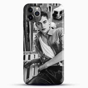 Hero Fiennes Tiffin After Movie iPhone 11 Pro Max Case, Black Snap 3D Case | JoeYellow.com