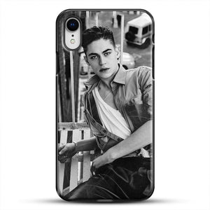 Hero Fiennes Tiffin After Movie iPhone XR Case, Black Plastic Case | JoeYellow.com