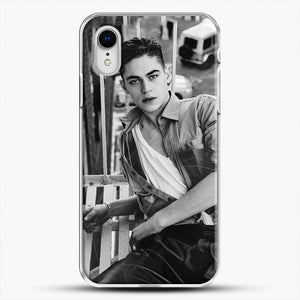 Hero Fiennes Tiffin After Movie iPhone XR Case, White Plastic Case | JoeYellow.com