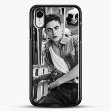 Load image into Gallery viewer, Hero Fiennes Tiffin After Movie iPhone XR Case, Black Rubber Case | JoeYellow.com