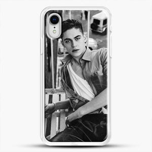 Hero Fiennes Tiffin After Movie iPhone XR Case, White Rubber Case | JoeYellow.com