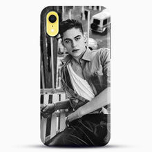 Load image into Gallery viewer, Hero Fiennes Tiffin After Movie iPhone XR Case, Black Snap 3D Case | JoeYellow.com