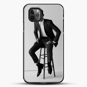 Hero Fiennes Tiffin Am Sitting iPhone 11 Pro Max Case, Black Plastic Case | JoeYellow.com