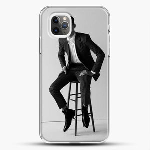Hero Fiennes Tiffin Am Sitting iPhone 11 Pro Max Case, White Plastic Case | JoeYellow.com