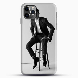 Hero Fiennes Tiffin Am Sitting iPhone 11 Pro Max Case, Black Snap 3D Case | JoeYellow.com