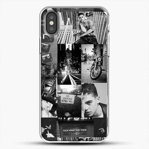 Hero Fiennes Tiffin Bad Boy iPhone X Case, White Plastic Case | JoeYellow.com