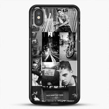 Load image into Gallery viewer, Hero Fiennes Tiffin Bad Boy iPhone X Case, Black Rubber Case | JoeYellow.com