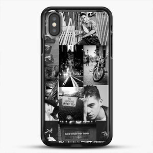 Hero Fiennes Tiffin Bad Boy iPhone X Case, Black Rubber Case | JoeYellow.com