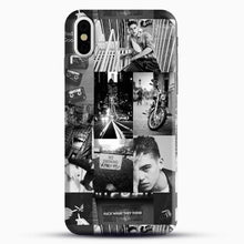 Load image into Gallery viewer, Hero Fiennes Tiffin Bad Boy iPhone X Case, Black Snap 3D Case | JoeYellow.com