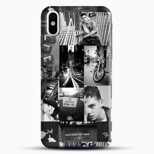 Hero Fiennes Tiffin Bad Boy iPhone X Case, Black Snap 3D Case | JoeYellow.com