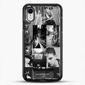 Hero Fiennes Tiffin Bad Boy iPhone XR Case, Black Rubber Case | JoeYellow.com