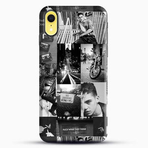 Hero Fiennes Tiffin Bad Boy iPhone XR Case, Black Snap 3D Case | JoeYellow.com