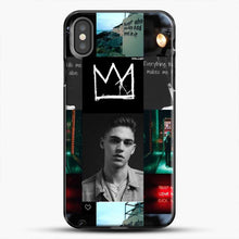 Load image into Gallery viewer, Hero Fiennes Tiffin City Deweller iPhone X Case, Black Plastic Case | JoeYellow.com