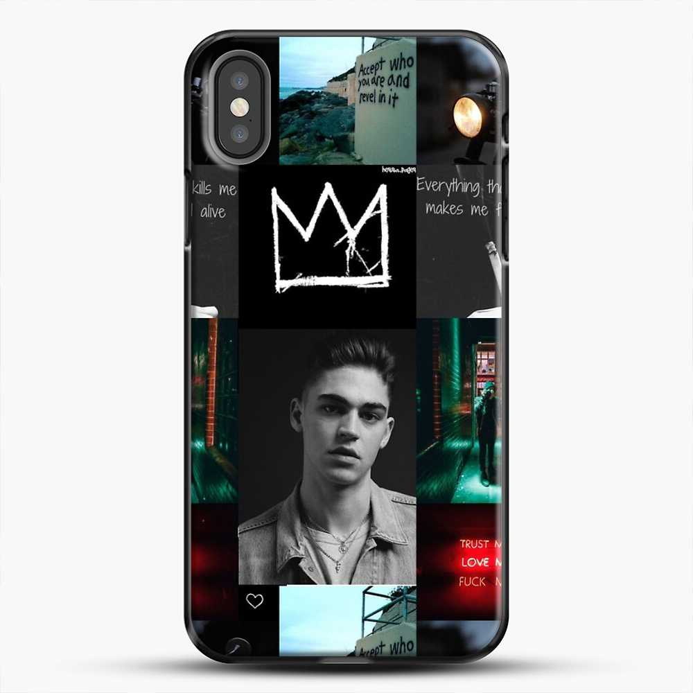 Hero Fiennes Tiffin City Deweller iPhone X Case, Black Plastic Case | JoeYellow.com