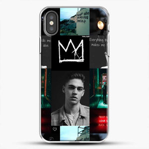 Hero Fiennes Tiffin City Deweller iPhone X Case, White Plastic Case | JoeYellow.com
