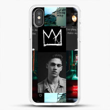 Load image into Gallery viewer, Hero Fiennes Tiffin City Deweller iPhone X Case, White Rubber Case | JoeYellow.com