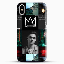Load image into Gallery viewer, Hero Fiennes Tiffin City Deweller iPhone X Case, Black Snap 3D Case | JoeYellow.com