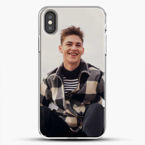 Hero Fiennes Tiffin Cool iPhone X Case, White Plastic Case | JoeYellow.com