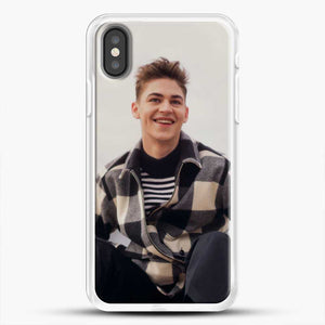Hero Fiennes Tiffin Cool iPhone X Case, White Rubber Case | JoeYellow.com