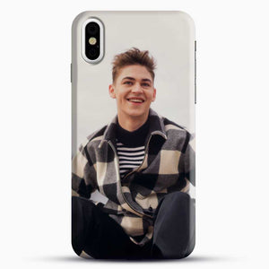 Hero Fiennes Tiffin Cool iPhone X Case, Black Snap 3D Case | JoeYellow.com