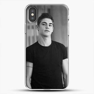 Hero Fiennes Tiffin Cute Boys iPhone X Case, White Plastic Case | JoeYellow.com