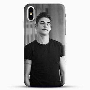 Hero Fiennes Tiffin Cute Boys iPhone X Case, Black Snap 3D Case | JoeYellow.com