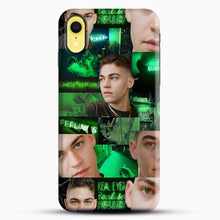 Load image into Gallery viewer, Hero Fiennes Tiffin Green Scene iPhone XR Case, Black Snap 3D Case | JoeYellow.com